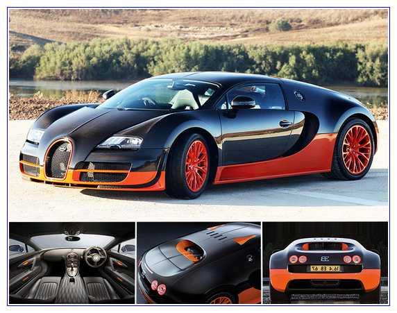1) Bugatti Veyron 16.4 Super Sport – $4,000,000