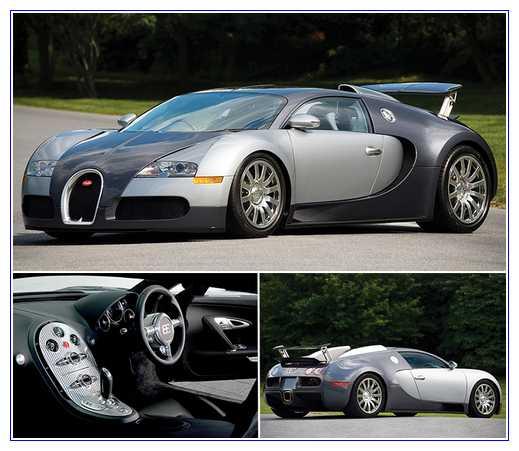 4) Bugatti Veyron 16.4 – Harga $2,550,000