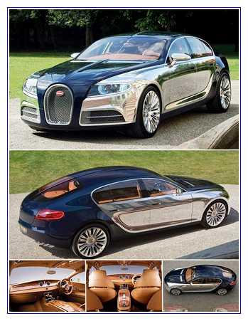 6) Bugatti 16C Galibier Concept – Harga $2,150,000
