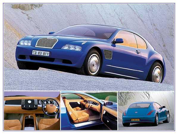 7) Bugatti EB118 Concept – Harga $2,000,000
