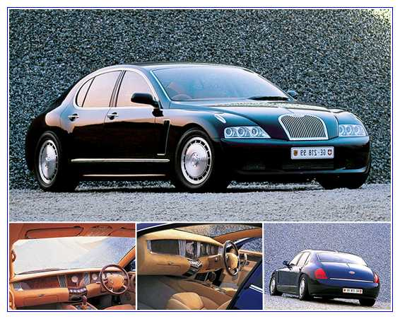 8) Bugatti EB218 Concept – Harga $2,000,000